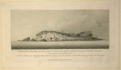 Fortified Island on the Malabar Coast in the East Indies, belonging to Tippoo Sultan